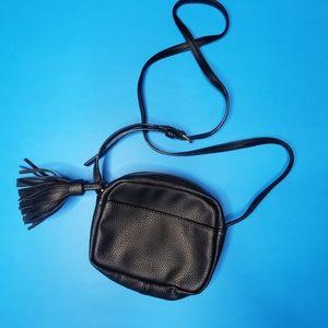 2/$30   Black leather purse